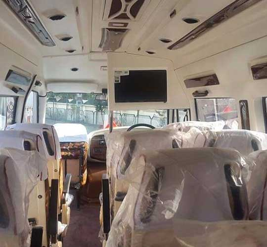 Tempo Traveller (12 Seater)